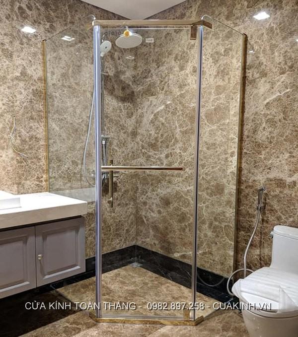 cấu trúc phòng tắm kính