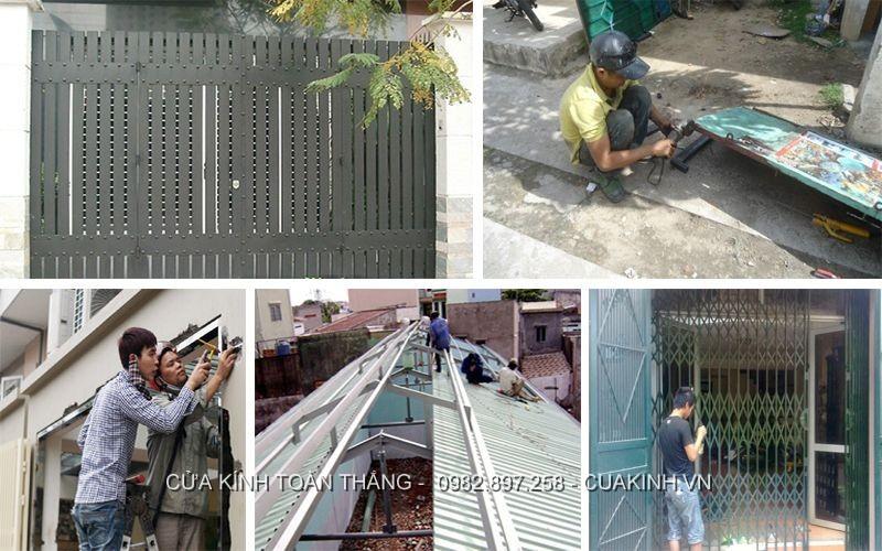 Dịch vụ Sửa của sắt giá rẻ, uy tín 24/7 tại Hà Nội
