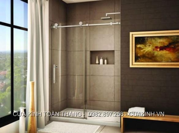 Những điều cần biết về cửa kính cường lực trượt lùa phòng tắm